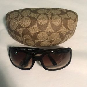 New Coach Samantha sunglasses tortoise Brown S425